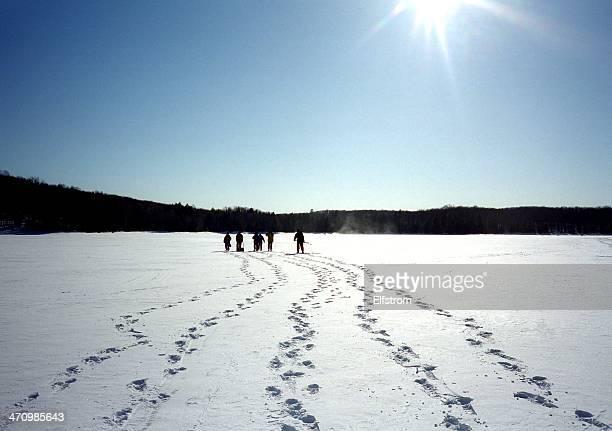 Lago ghiacciato Trek