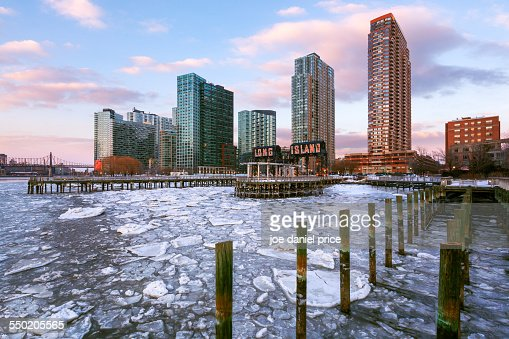 Frozen Long Island City, New York City, US