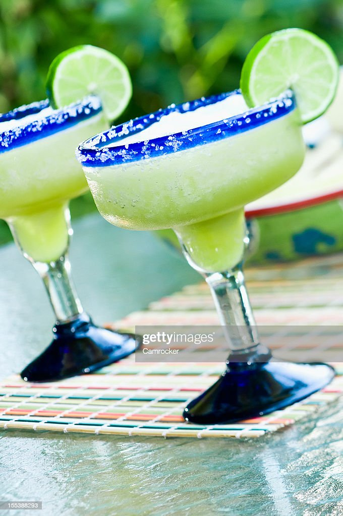 Frozen Margaritas : Stock Photo