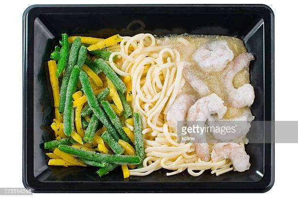 Frozen Pasta TV Dinner