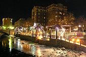 Frozen Reno Riverwalk