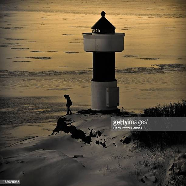 CONTENT] Frozen sea behind the Odderøya Lighthouse in the month of December