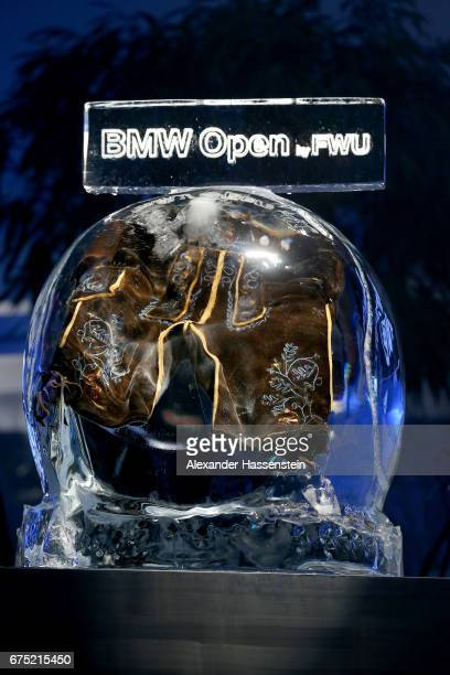Frozen winners Lederhosen at the Players Night of the 102 BMW Open by FWU at Iphitos tennis club on April 30 2017 in Munich Germany