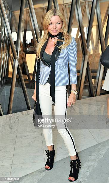 Fru Tholstrup attends the launch party for the Obadash / Macdonald swimwear collaboration at ME Hotel on June 25 2013 in London England