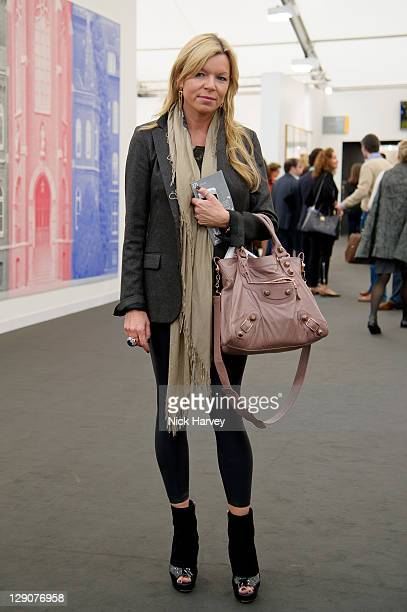 Fru Tholstrup attends the preview of Frieze Art Fair at Regent's Park on October 12 2011 in London England