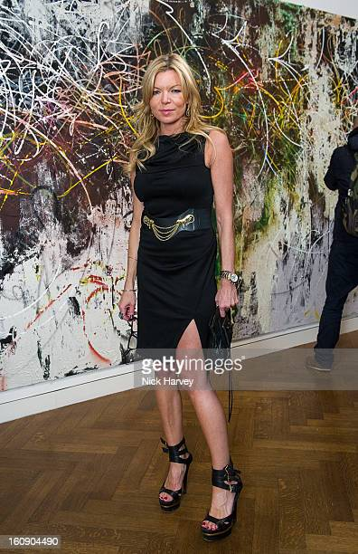 Fru Tholstrup attends the private view of Jose Parla Broken Language at Haunch of Venison on February 7 2013 in London England