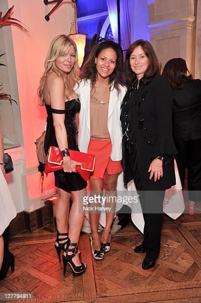 Fru Tholstrup Rachel Barrett and Anita Zabludowitz attend the 4th anniversary of Tate Young Patrons sponsored by Vanessa Bruno on June 8 2011 in...