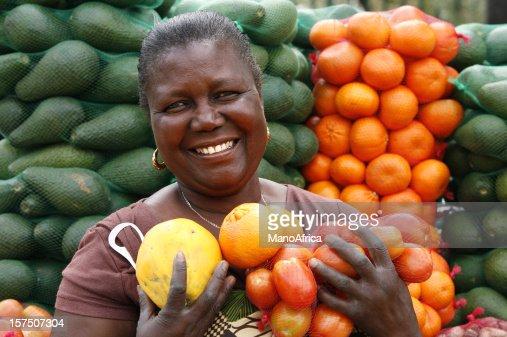 Fruit and Veg seller South Africa