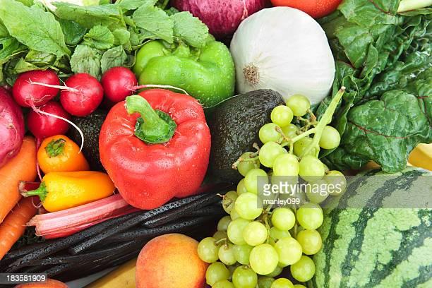Obst und Gemüse-Mix