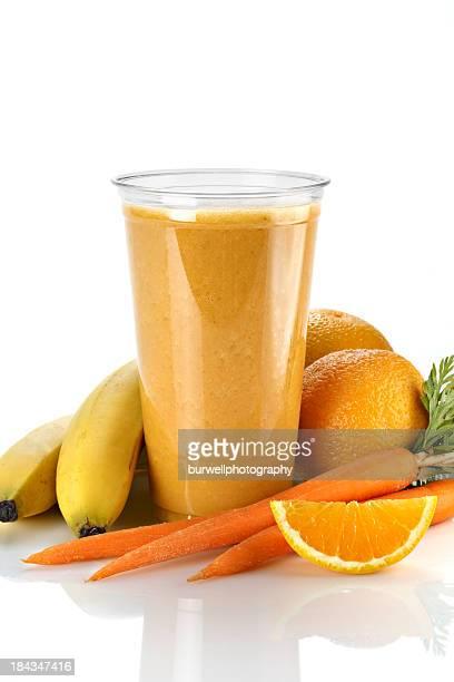 Smoothie de fruits et légumes