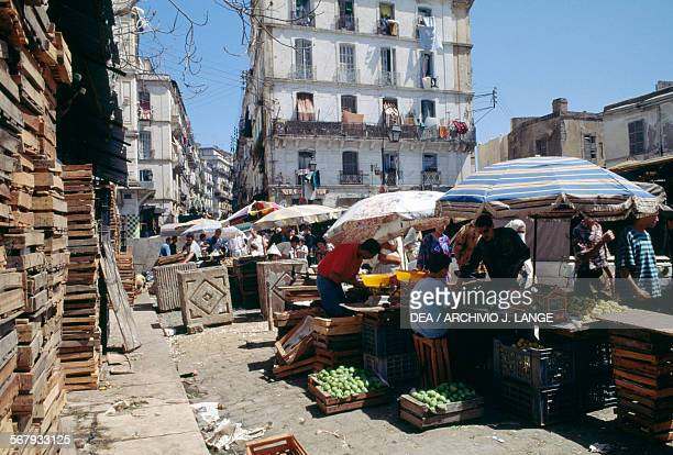 Fruit and vegetable stall Algiers Algeria