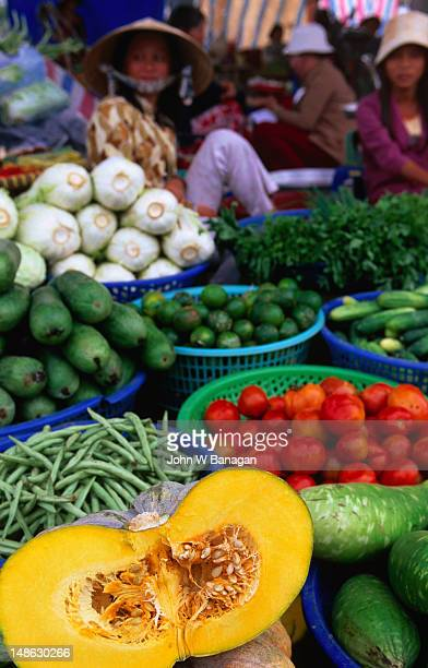 Fruit and vegetables at Duong Dong market.