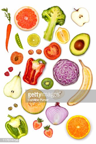 fruits and vegetables for healthy hair healthy fruit slice