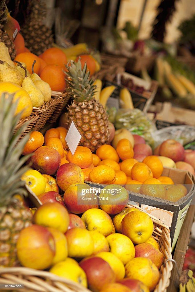 Fruit at Market : Stock Photo