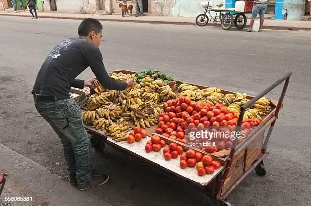 Fruit cart in Old Havana