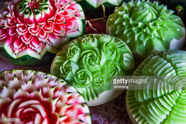 Thai watermelon stock photos and pictures getty images