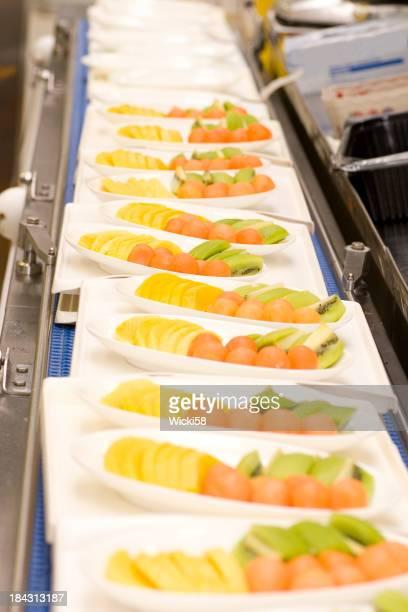 Obst Catering für Fluggesellschaft