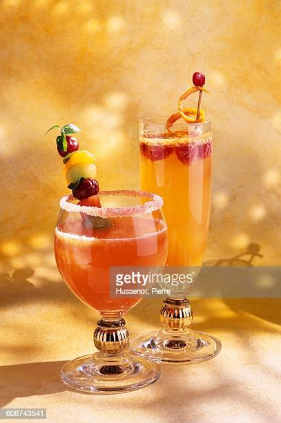 Brochette stock photos and pictures getty images for Cocktail drinks without alcohol