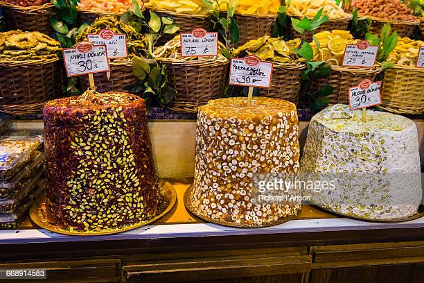 Fruit donars displayed in the Spice Market