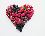 Fruit forming heart-shape