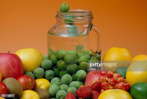 Fruit liquor ingredients