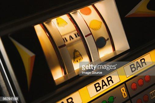 Fruit machine : Stock Photo