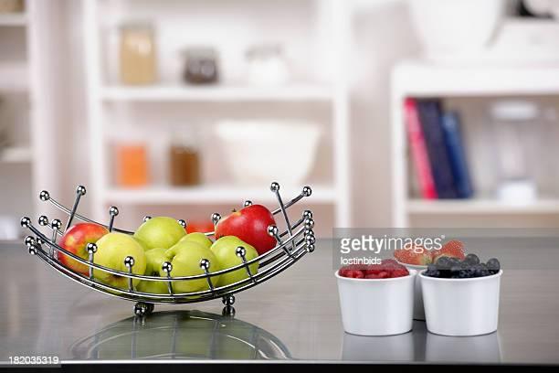 Fruit On A Kitchen Worktop