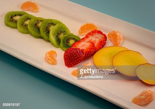 Fruit Plate : Stock Photo