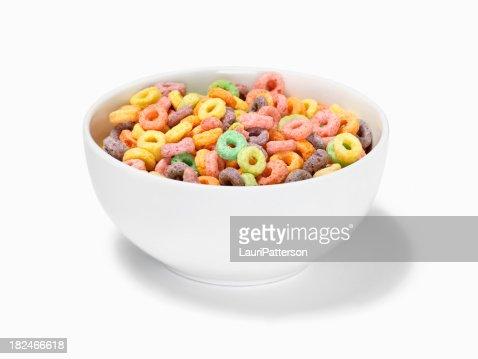 Fruit Ring Breakfast Cereal