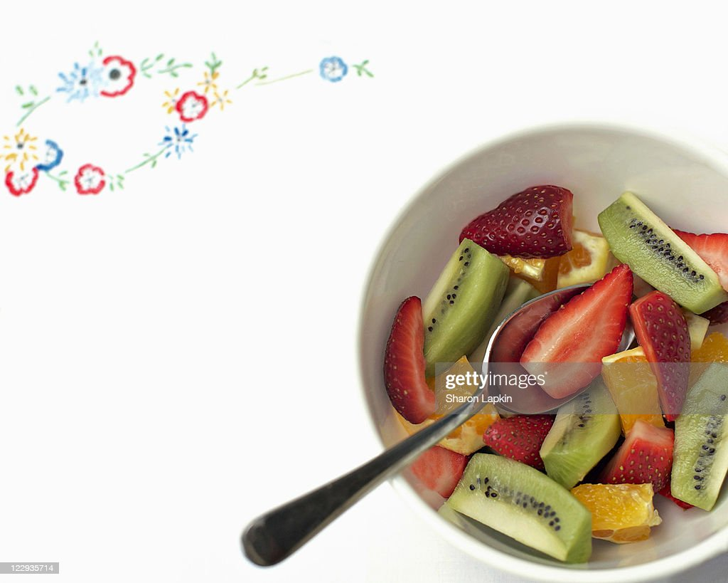 Fruit salad : Stock Photo