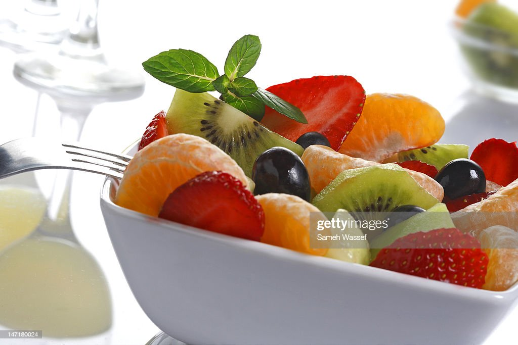 Fruit salad : Stock Photo