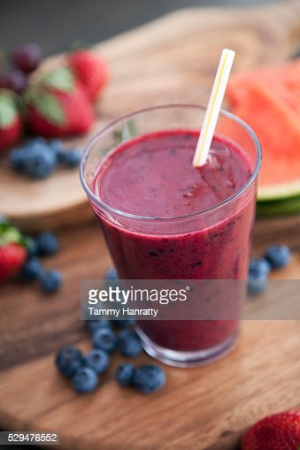 Fruit smoothie : Foto de stock