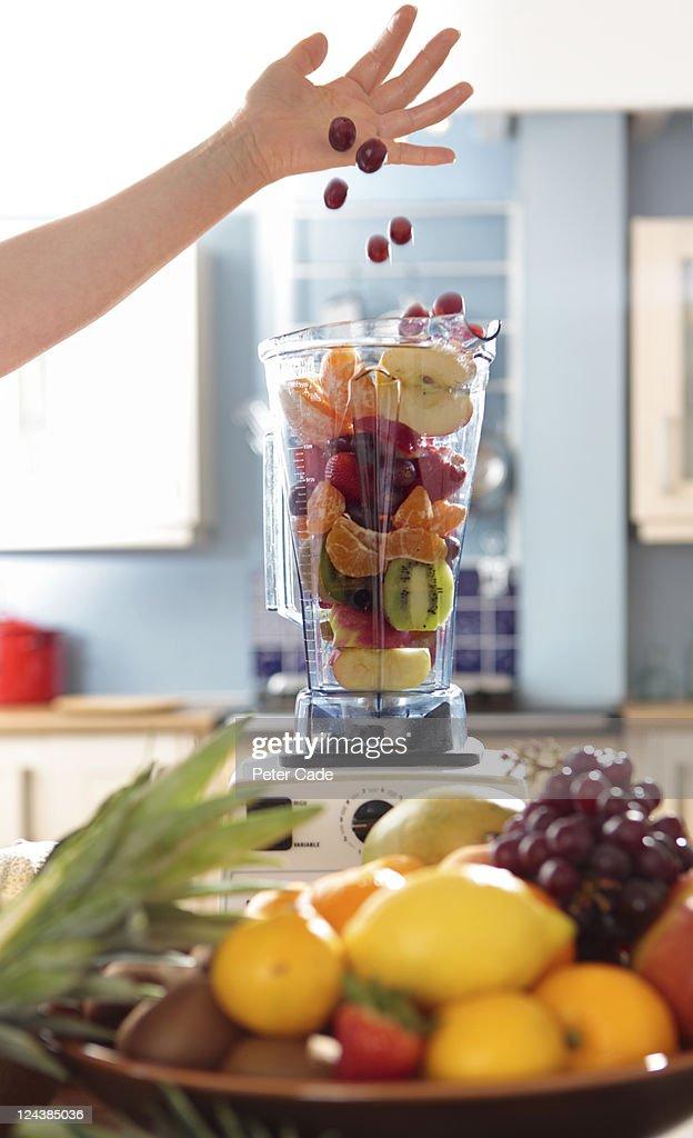 fruit smoothies : Stock Photo