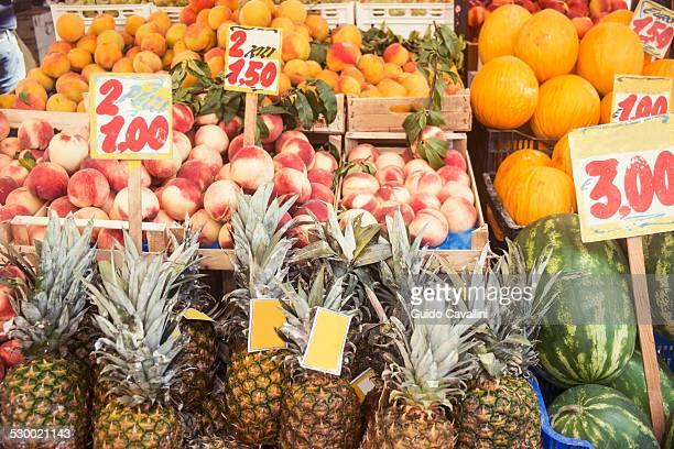 Fruit stall, Capri, Napoli, Campania, Italia