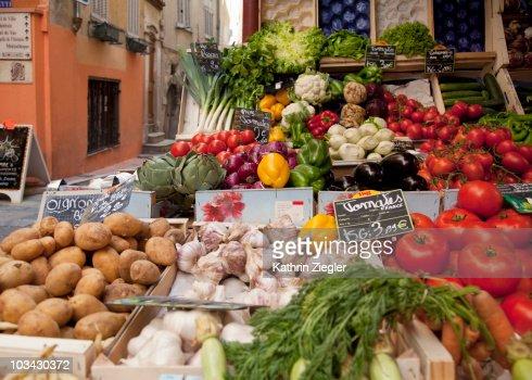 fruit stand : Bildbanksbilder