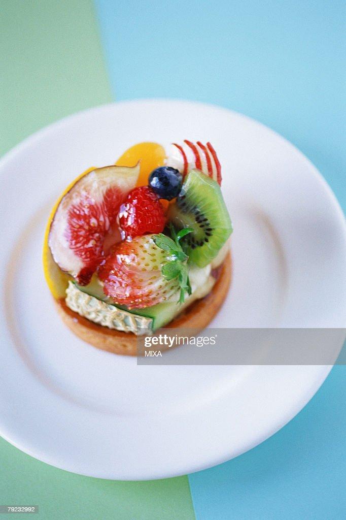 Fruit Tart : Stock Photo