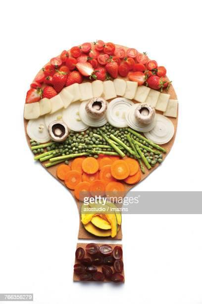 Fruit vegetables, ingredients