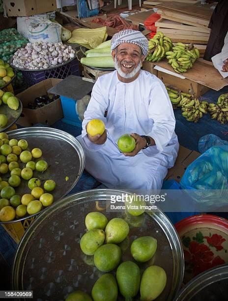 Fruit vendor in a Market