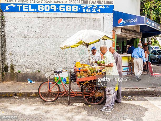 Fruit Vendor in Santo Domingo