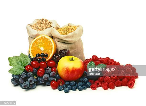 Berry Obst und Zerealien