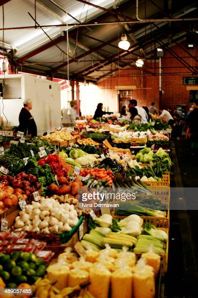 Fruits and vegetable section at Victoria Market