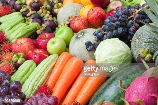 Obst und Gemüse : Stock-Foto