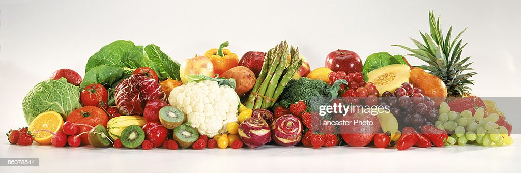 Fruits and vegetables : Stock Photo