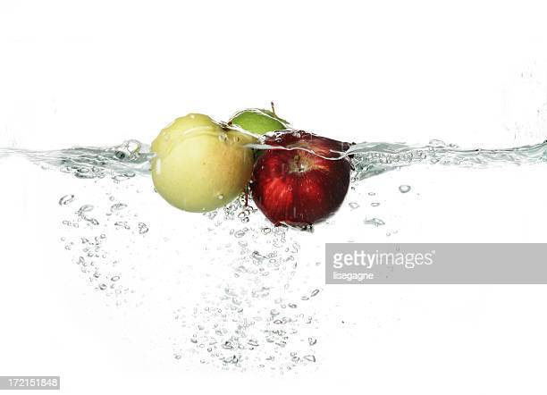 Fruits and Vegetables splash serie