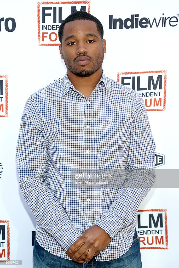 'Fruitvale Station' writer/director Ryan Coogler attends the Film Independent Forum at the DGA Theater on October 27, 2013 in Los Angeles, California.