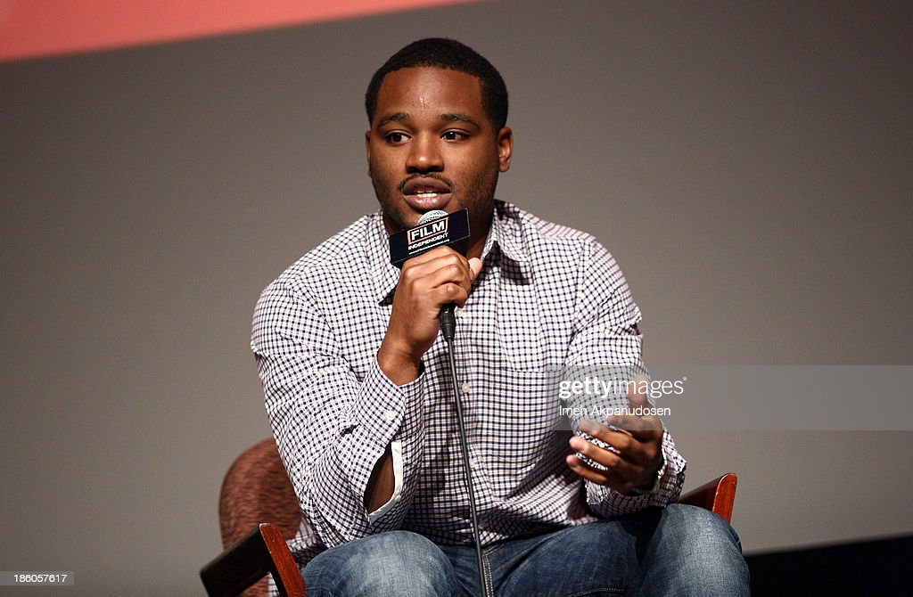 'Fruitvale Station' writer/director <a gi-track='captionPersonalityLinkClicked' href=/galleries/search?phrase=Ryan+Coogler&family=editorial&specificpeople=7316581 ng-click='$event.stopPropagation()'>Ryan Coogler</a> speaks onstage at the Film Independent Forum at the DGA Theater on October 27, 2013 in Los Angeles, California.