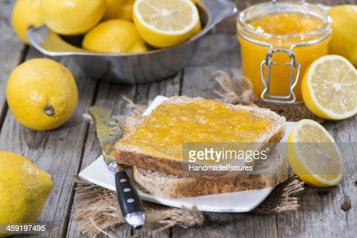 Fruity Lemon Jam : Stock Photo