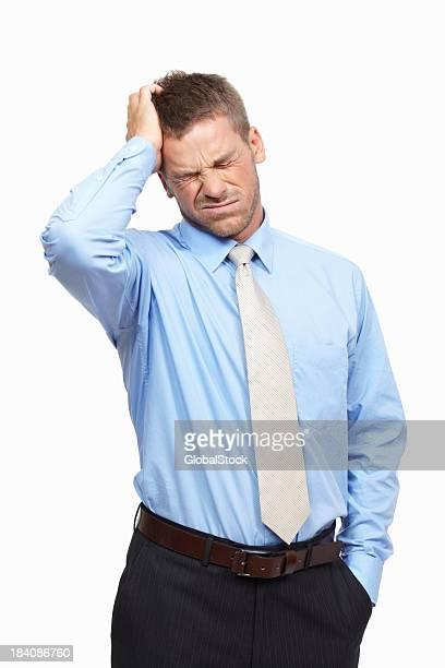 Homem de Negócios frustrado