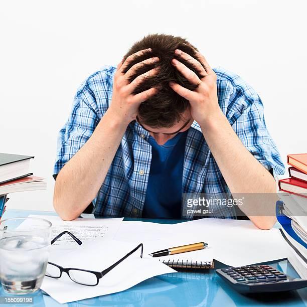 Estudante frustrado
