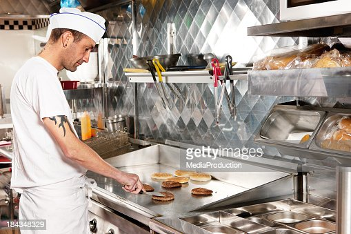 Fry cook
